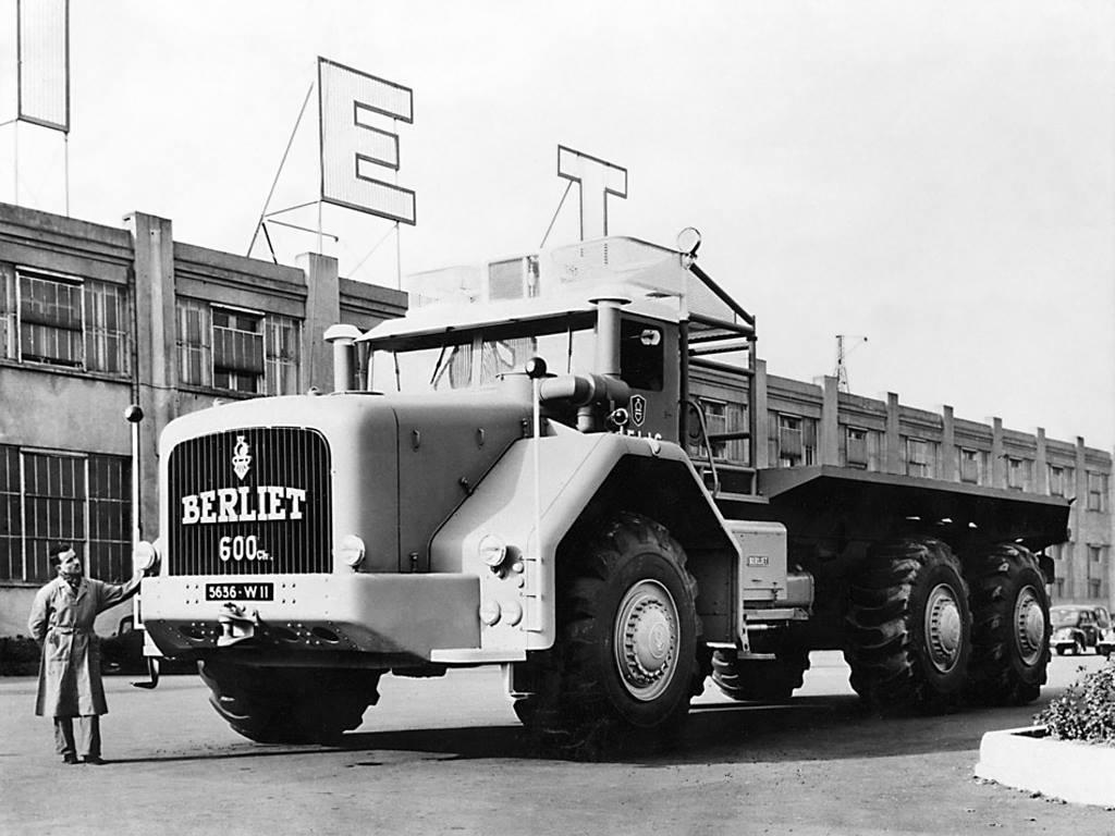 Berliet-T-100-1957-1
