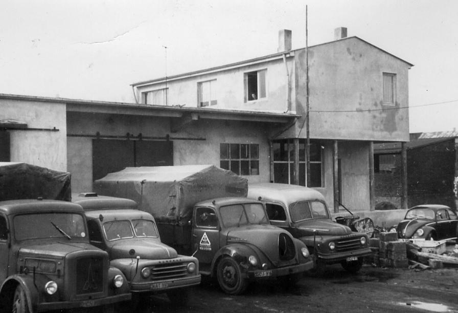 Duitsland-West-Verkehre-Spediton-Dusseldorf-Jo-Castello-ca-1960
