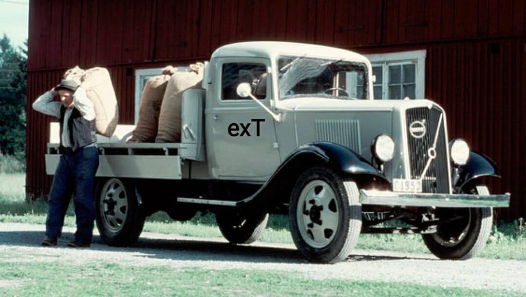 1930--lar-Volvo-Kamyon