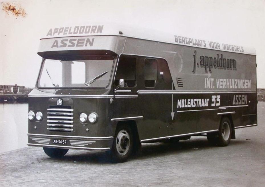 Bedford-verhuiswagen