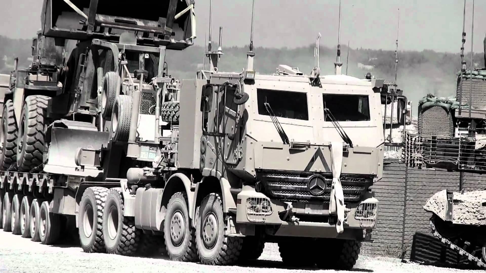 Mercedes-Acros-De-afghaanse-oorlog-was-in-het-canadese-leger-actros-gepantserde-truck