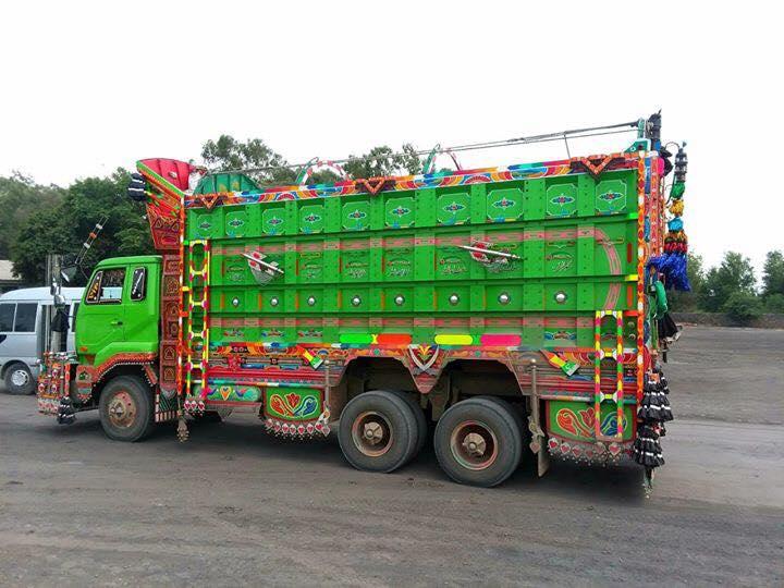 Green-truck-