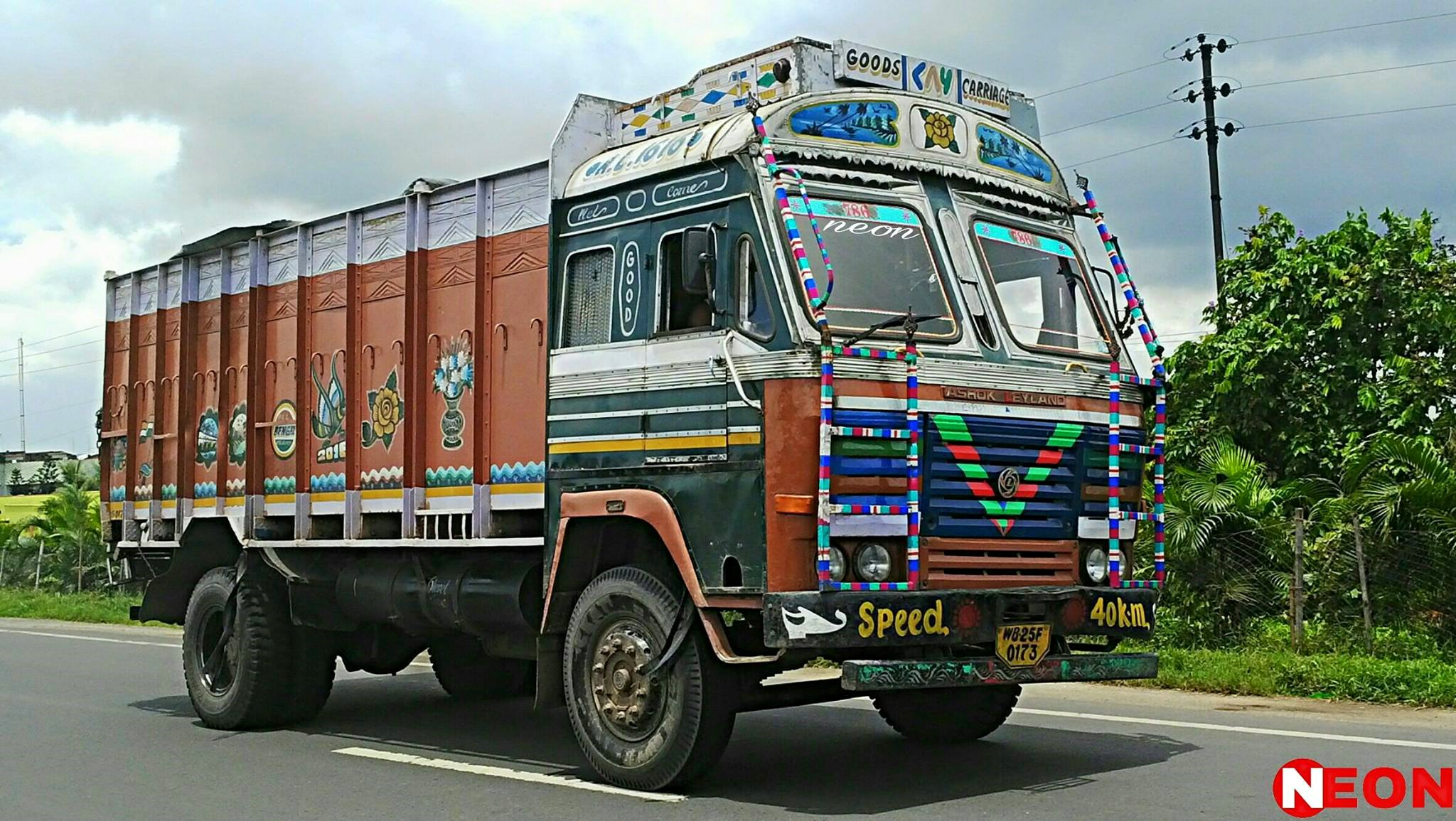 Ashok-Leyland-1666Il-Hooghly-West-Bengal-India