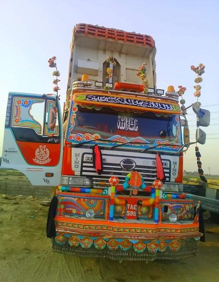 Hino_FY380--Dump_Truck