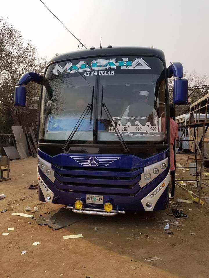 Mercedes-karachi-to-Quetta-