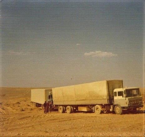 DAF-2600-Midden-Oosten-ca-1973-chauffeur-Dick-Sneek