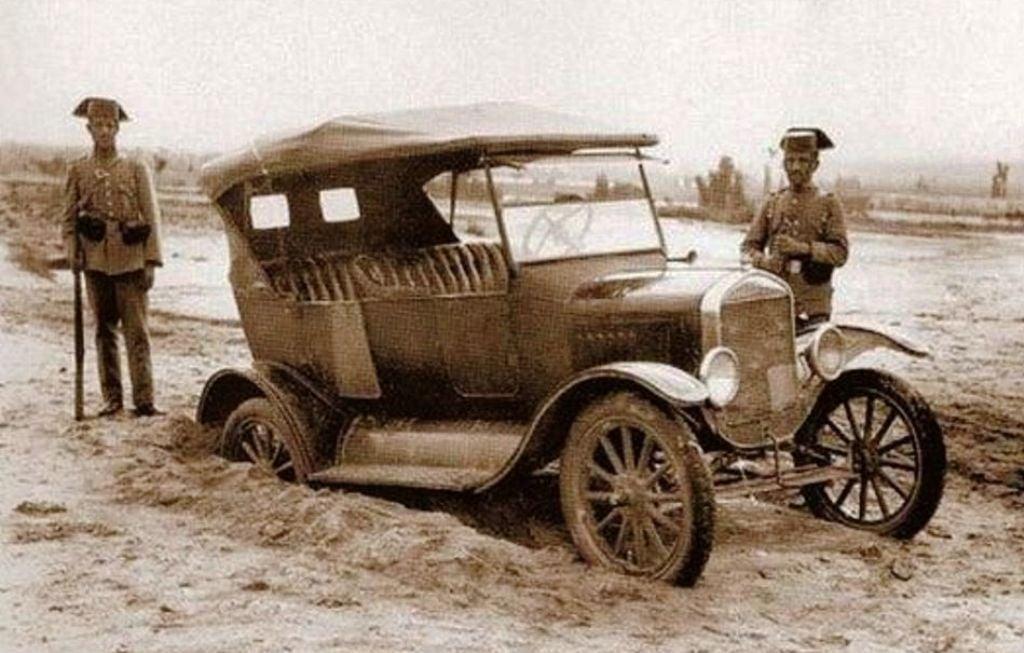 Ford-T-Spanje