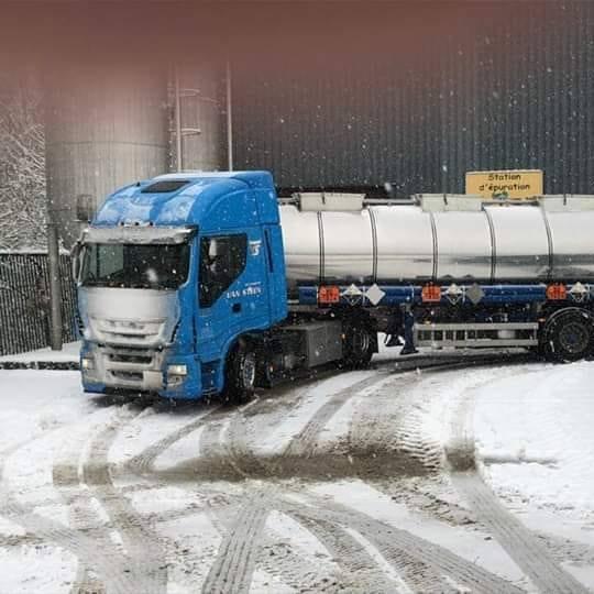 Iveco-tanktrailer