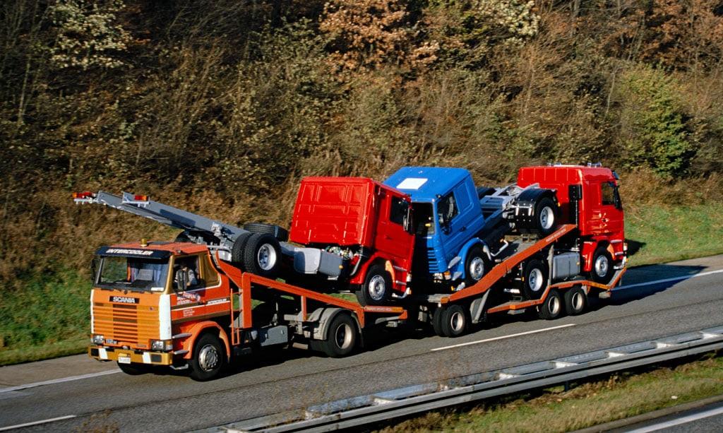 Scania-Cartransport