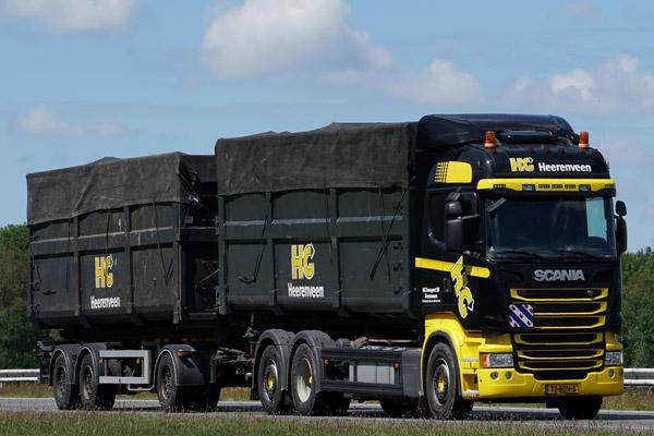 Scania-bulktransport