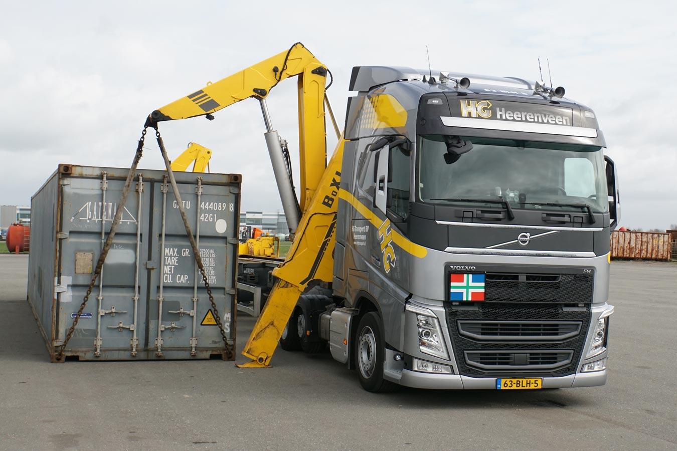 Volvo-sideloader