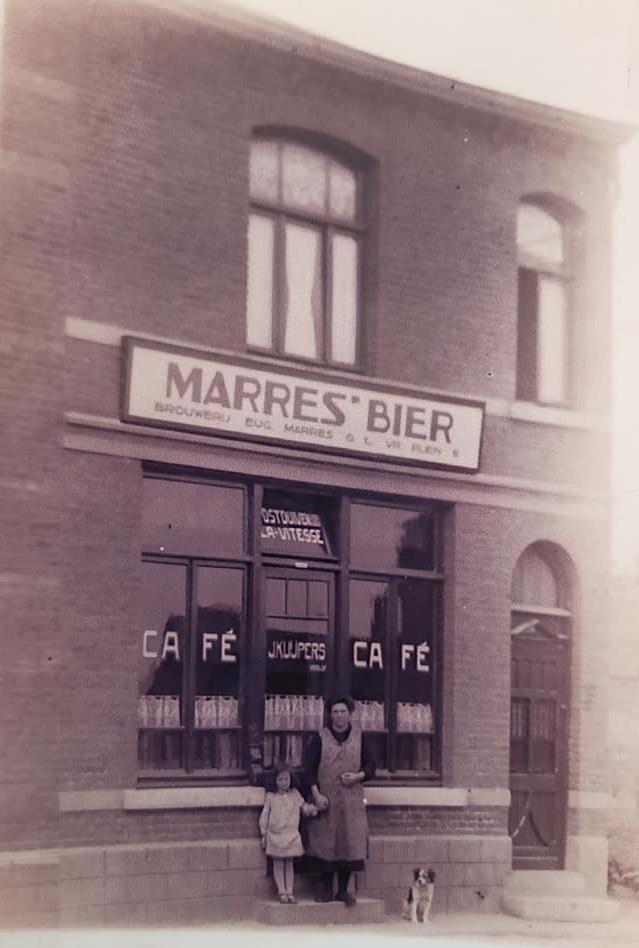 Cafe--Kuijpers--Populierweg-in-Limmel-1922-(1)