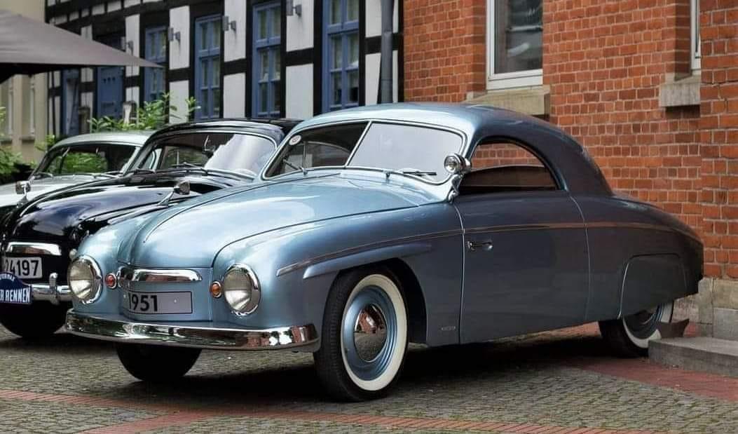 1951-Volkswagen-Rometsch-Beeskow--slechts-200-Gebouwd-1951