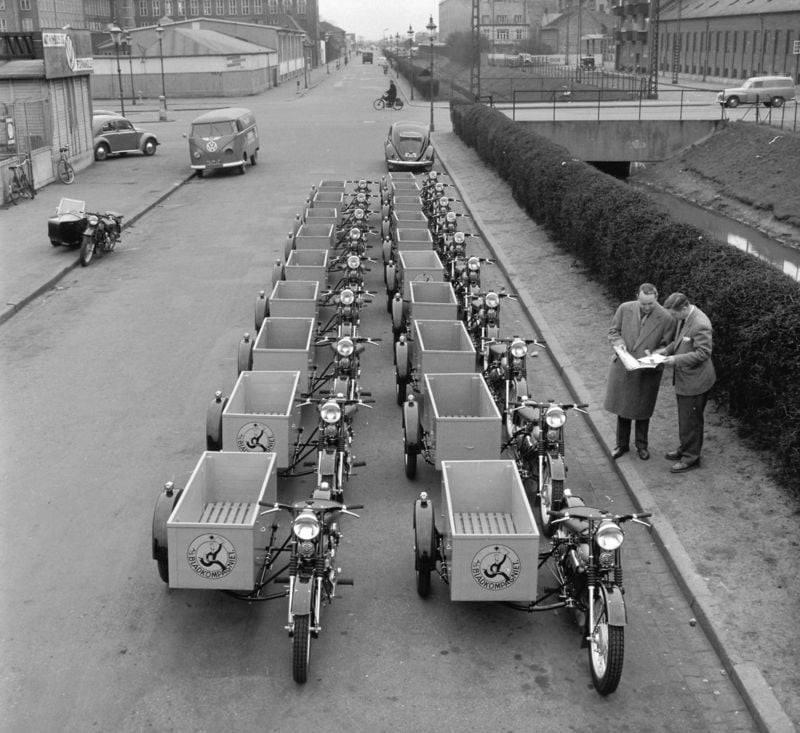 Copenhagen-Denmark-1957-tot-1976-post-motoren