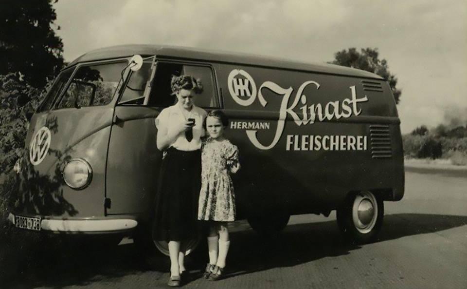 1952-VW-T1-Hermann-Kinast-Fleischerei