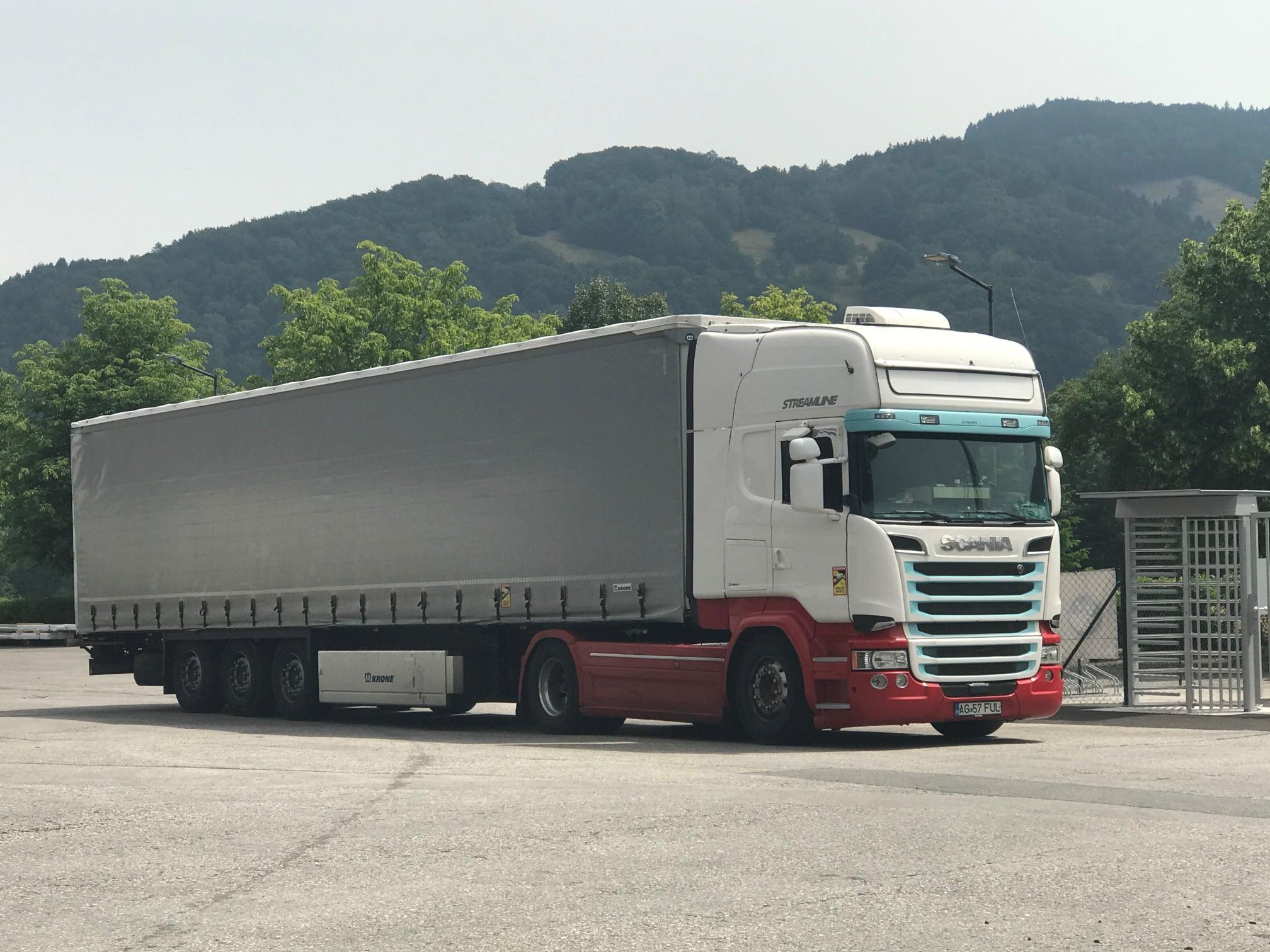 Scania-in-Romenie