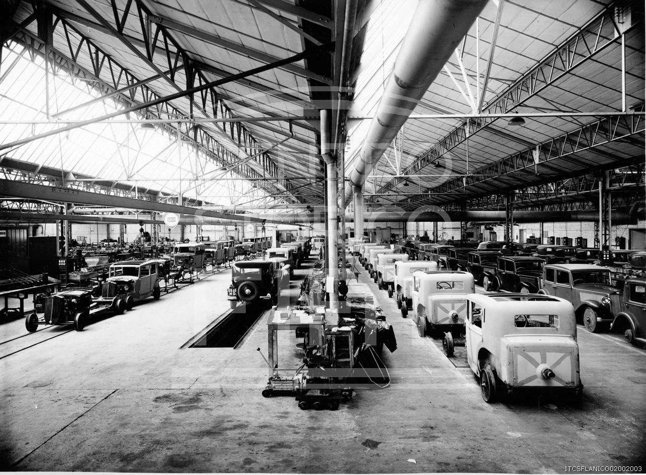 Lancia-1936-Linee-Montaggio-per-il-Marcato-Francia-Bonneuil-sur-Marne