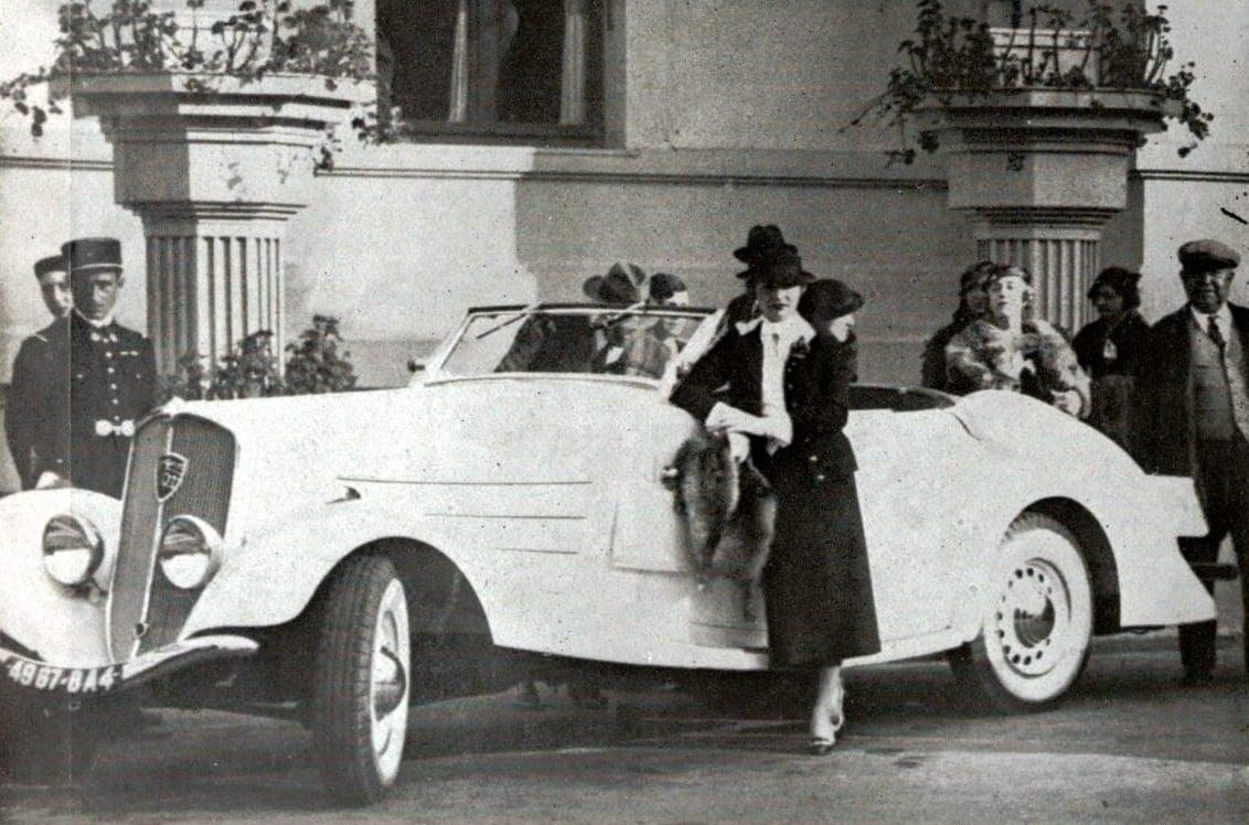 Peugeot-Eclipse-601-gepresenteerd-door-mevrouw-Grozavesco--1935