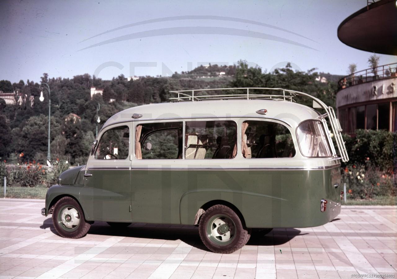 Fiat-615-autobus---Torino-1955