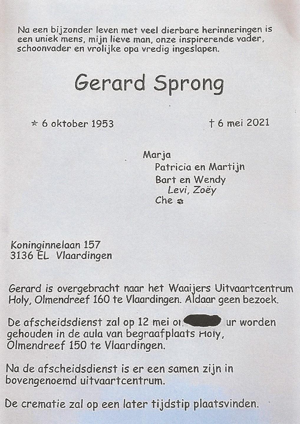 gerard-sprong