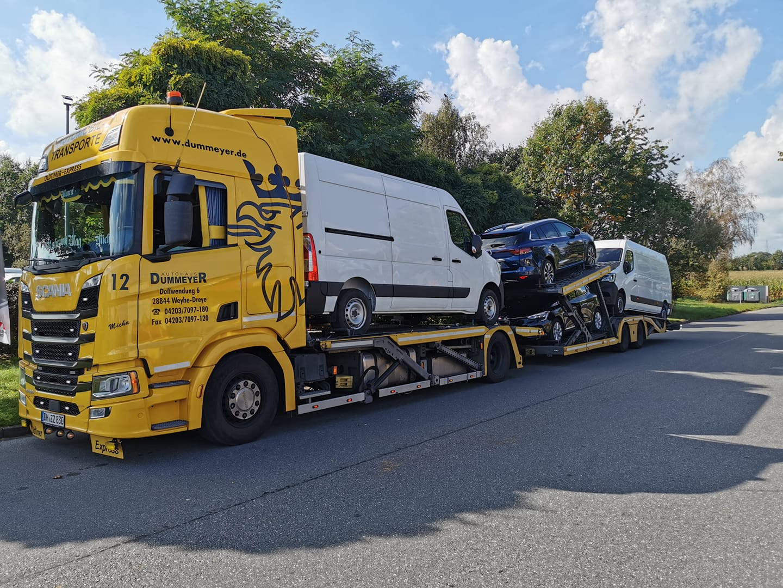 Scania-car-transport