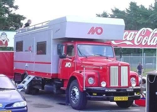 Scania-Camper