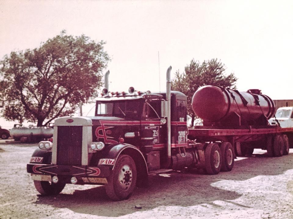 Alton-Miller-Back-in-1976--1952-Peterbilt-Still-own-it--In-its-hey-day