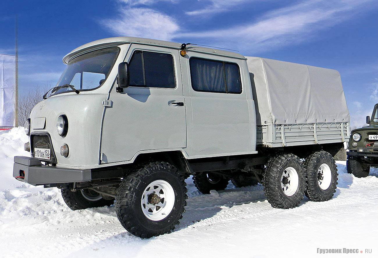 uaz-3909--6X4