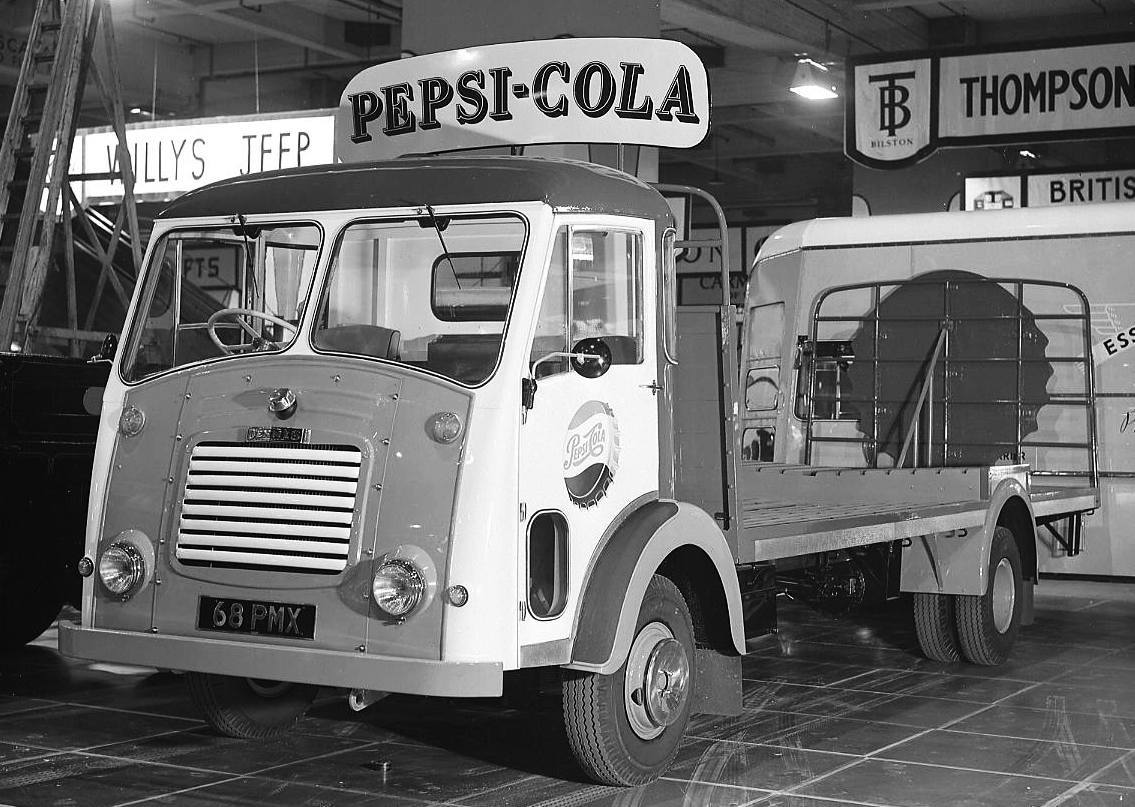 Dennis-Specialist-Vehicles-Limited-Pax-II-Pepsi-Cola-Lorry-1958