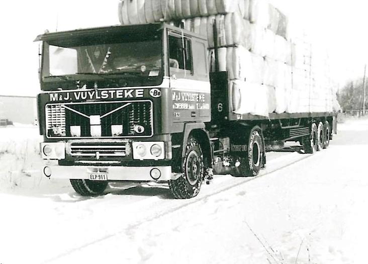 Volvo-als-sneeuwpop