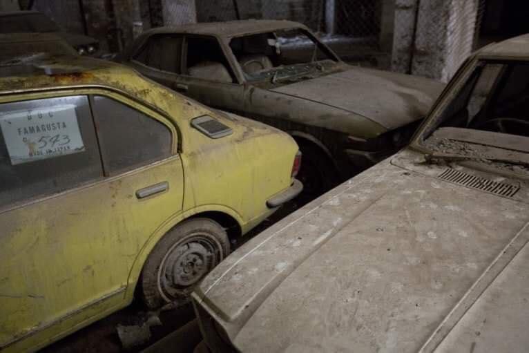 Cyprus-Famagusta-new-cars--old--cars-border---1974-closet--3
