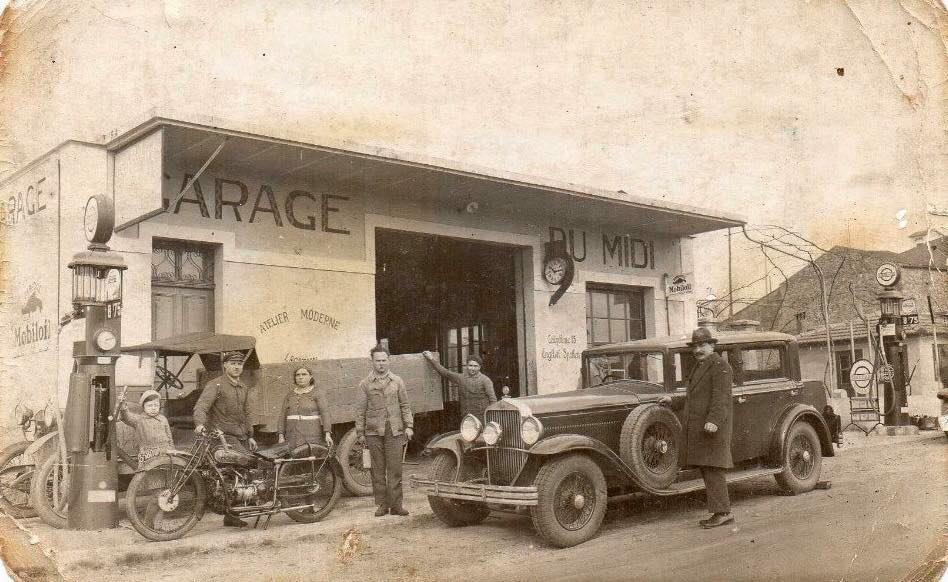 Garage-Du-Midi-Bollene-avec-une-Delage-
