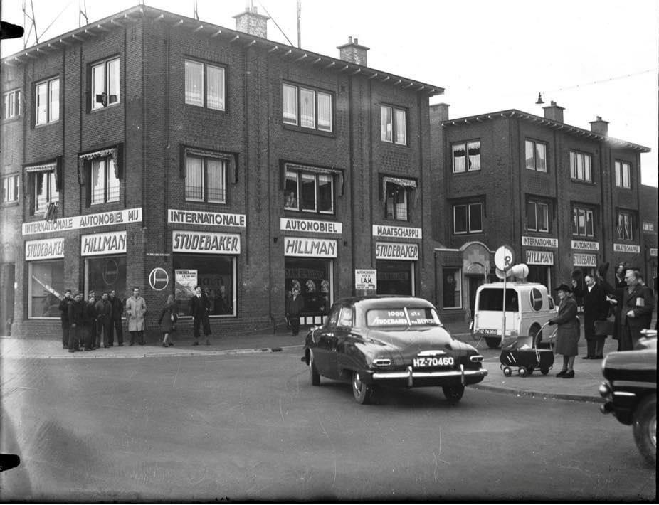 studebaker-de-1000-ste-na-1945-I-A-M-Scheldestraat-Den-Haag-1948