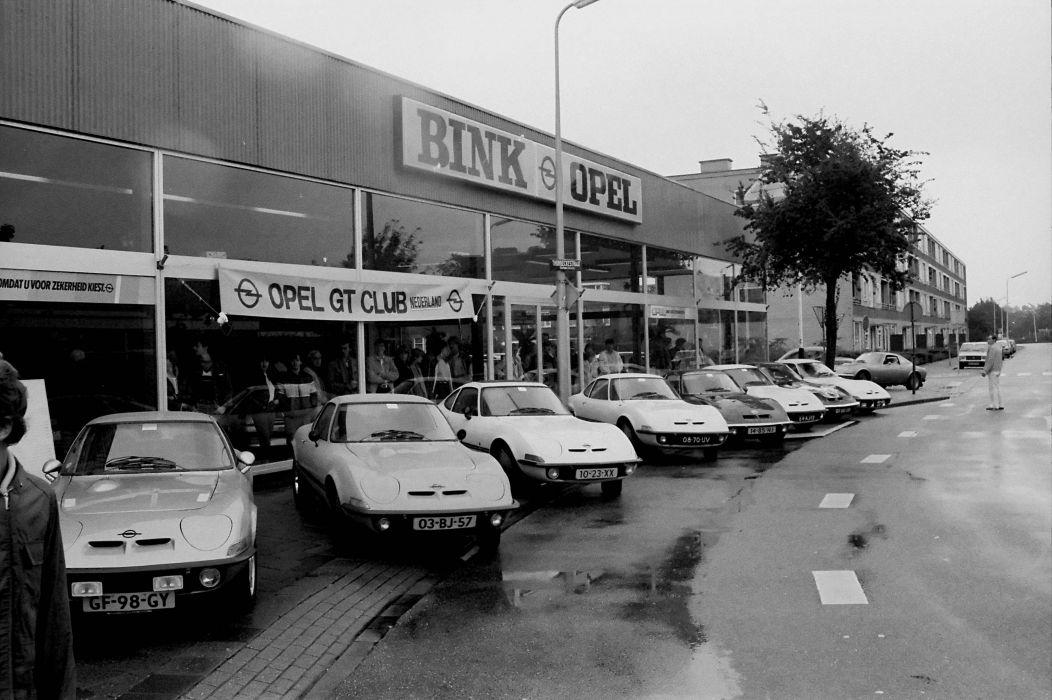 Opel-garage-in-Alphen-aan-den-Rijn-Thorbeckenstraat--in-de-jaren-80