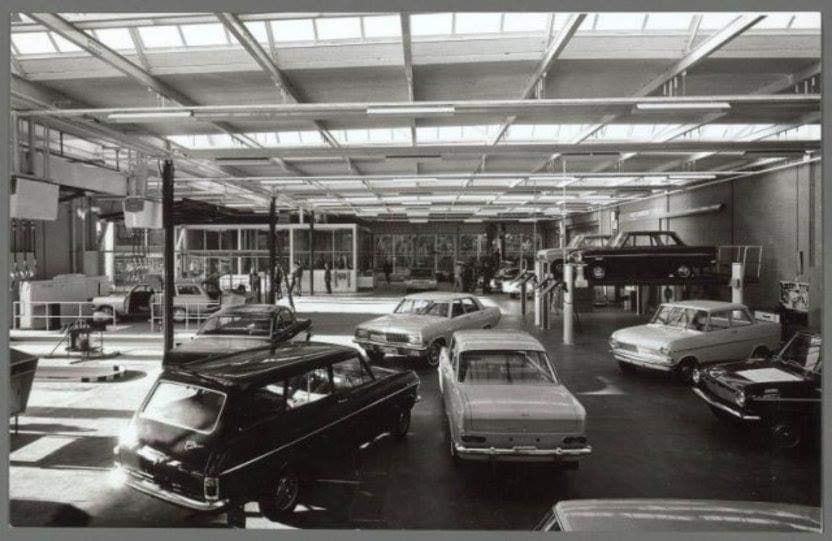 Opel-werkplaats