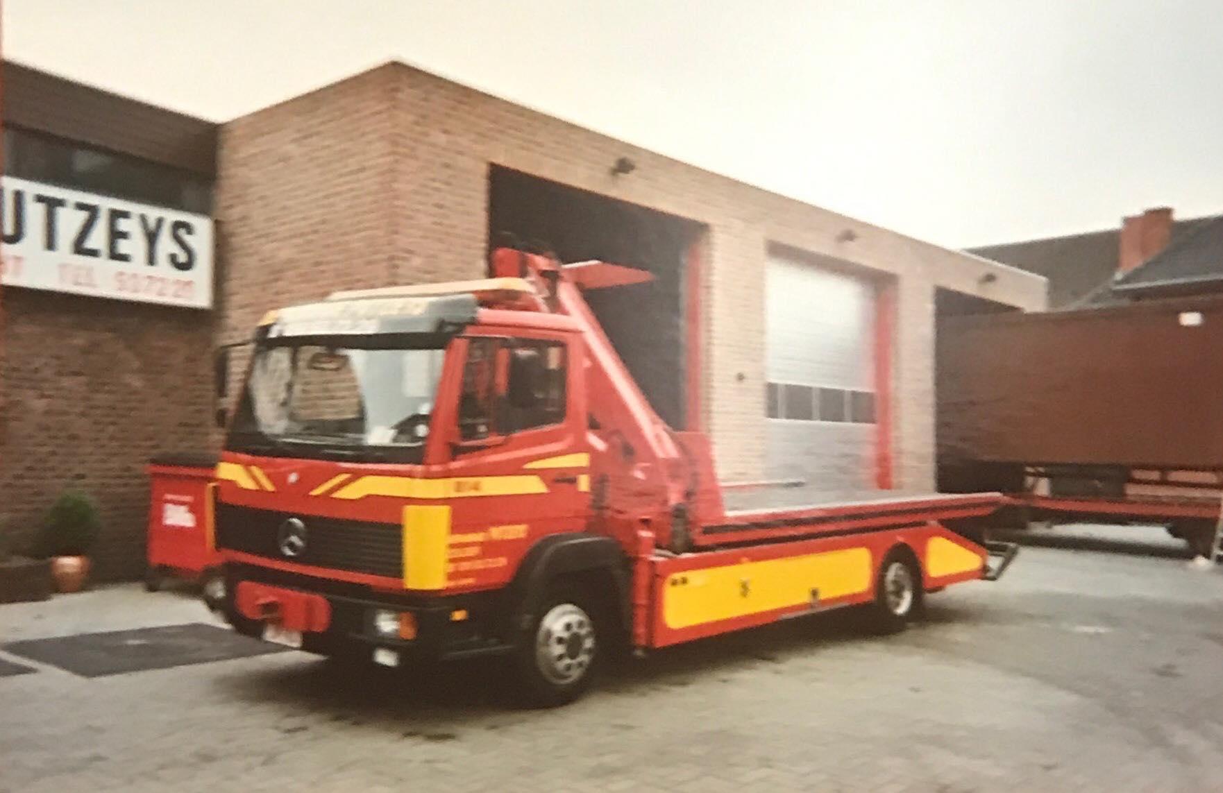 MB-oprijwagen