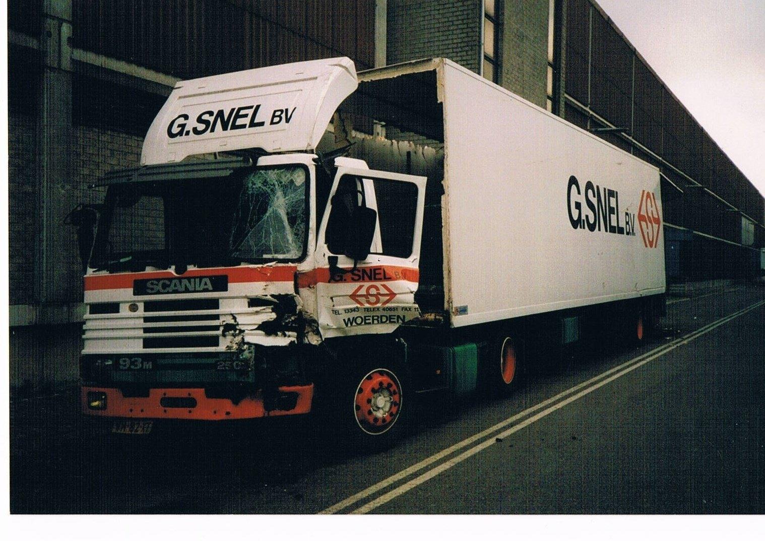 Scania-foutje