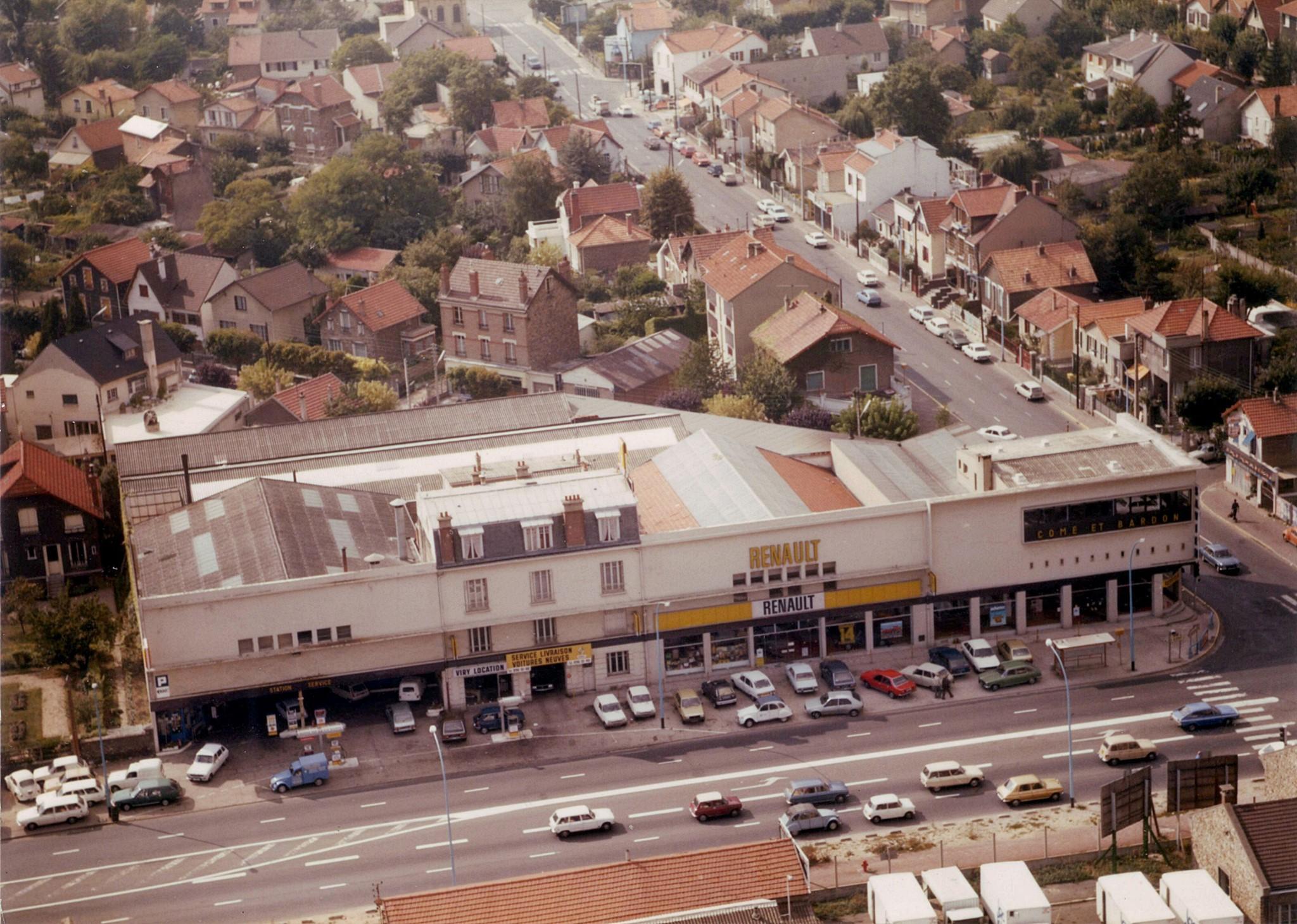 Renault--Concessionnaire-garage--Come-et-Bardon---Viry-Chatillon-1975