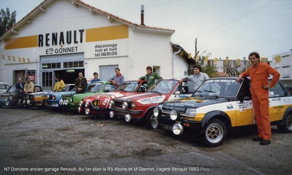 Renault-Oude-garage-RENAULT-in-Drome-zuid