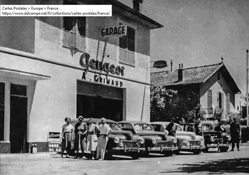 Peugeot-Agence---Route-d--AIX-1960
