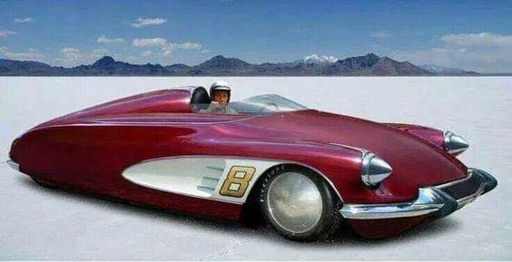 Citroen-DS-TurboTraction-Spirit--Bonneville-Speed-Car