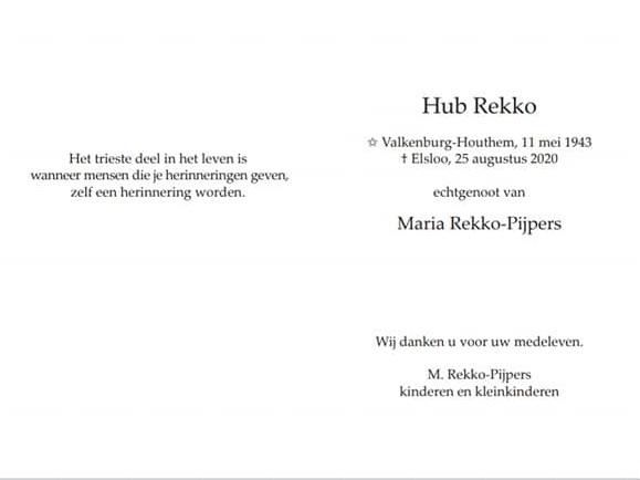 Hub-Rekko