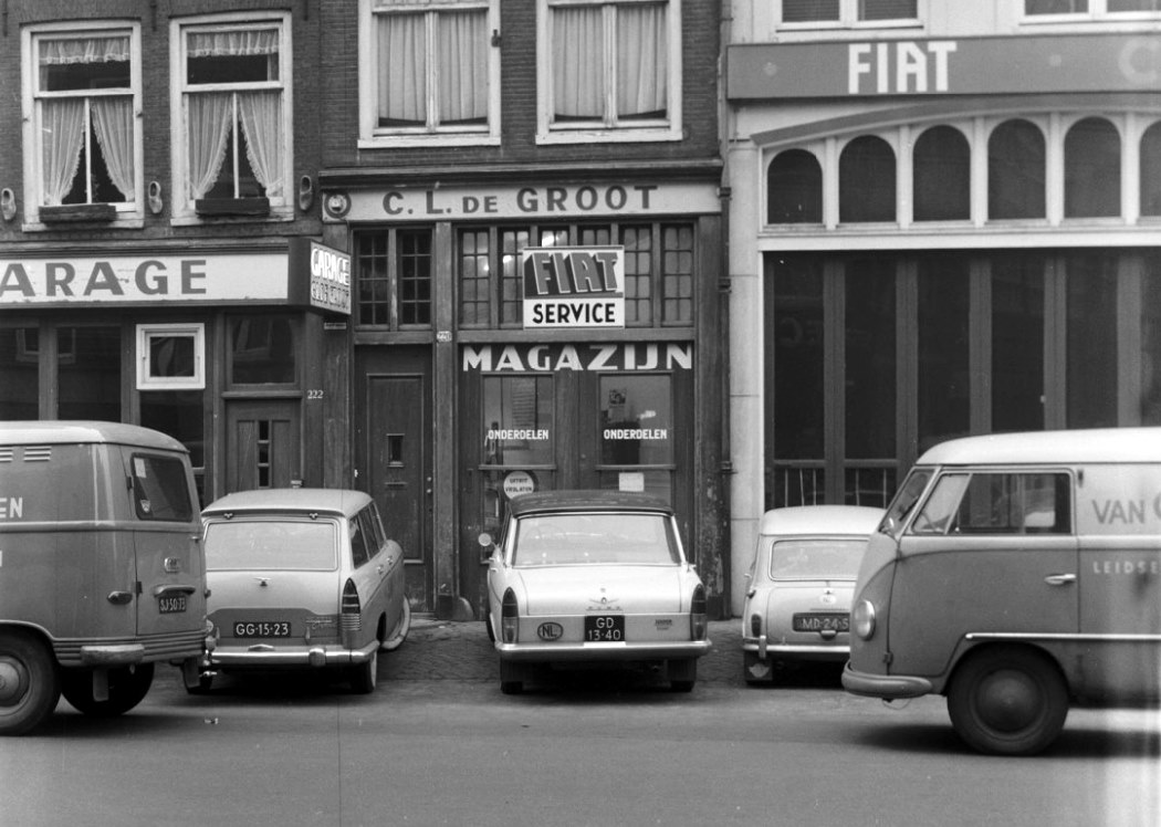 Fiat-Dealer-Spuistraat-Amsterdam-1963