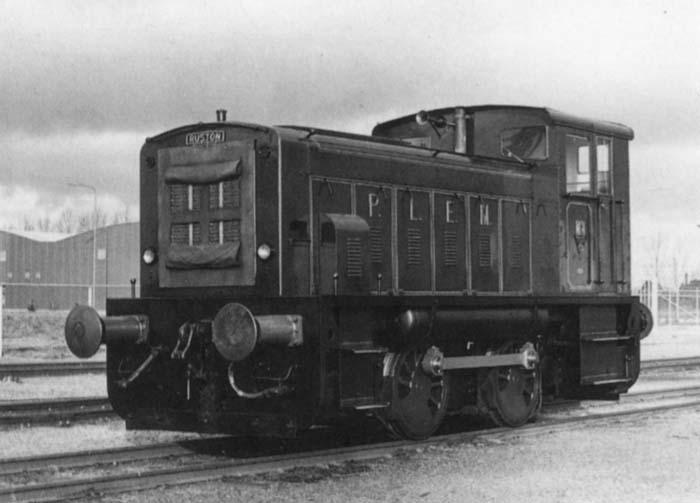 Locomotief-van-de-centrale-voor-zijn-laatste-rit-