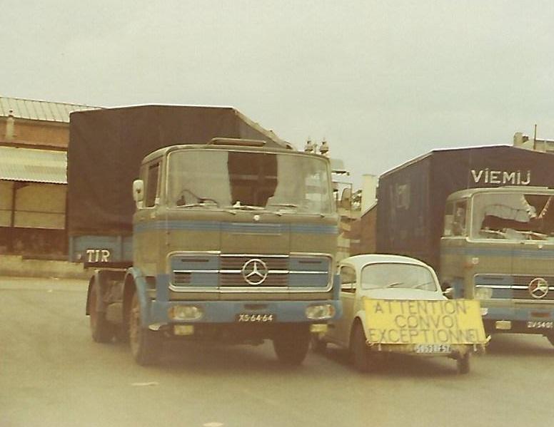 1974---Venlo-Internationale-Expeditie-Maatschappij-Viemij-Convoi-Exceptionel-naar-Paris-Hans-van-der-Sanden