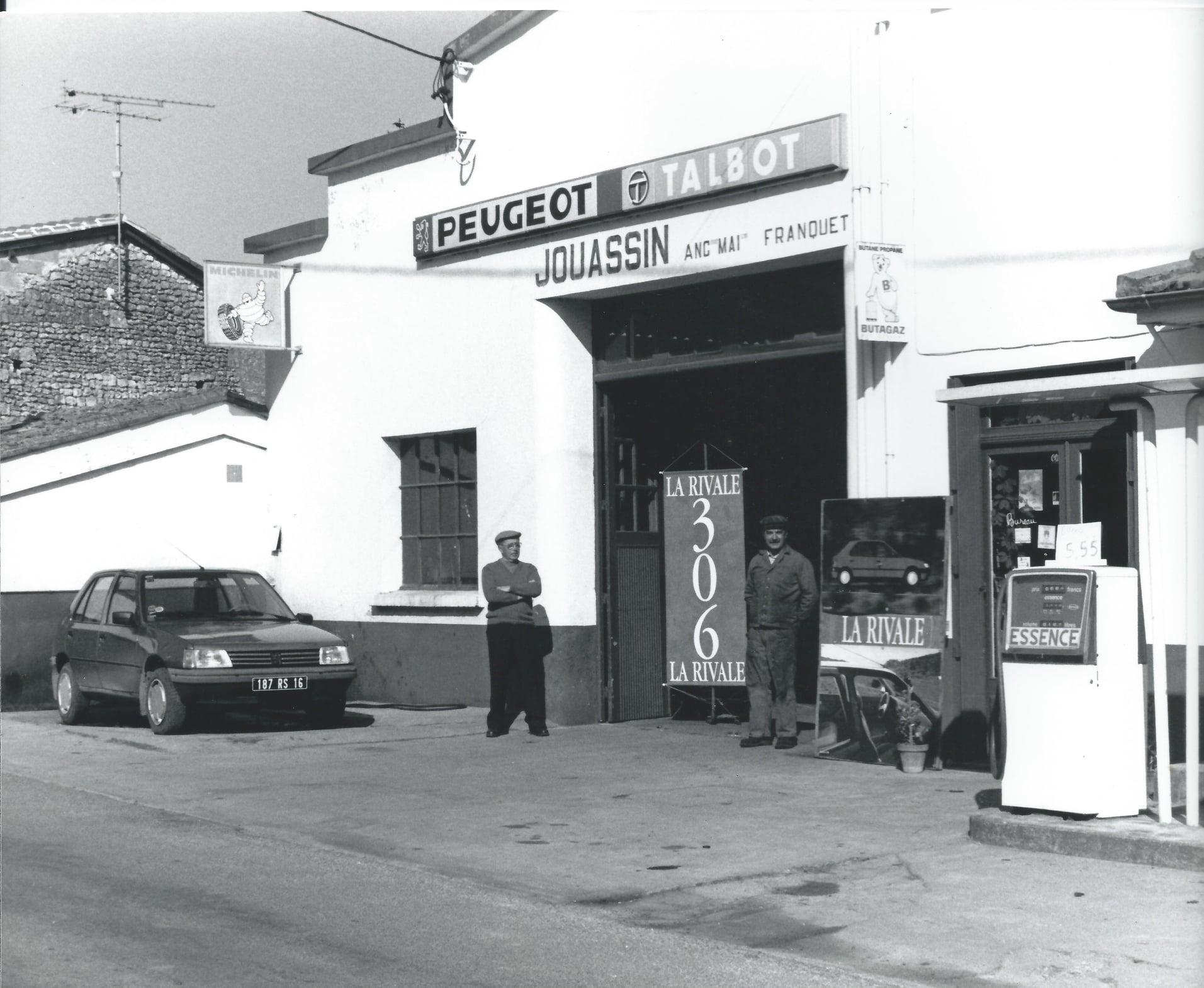 Peugeot-garage--RONSENAC-1993