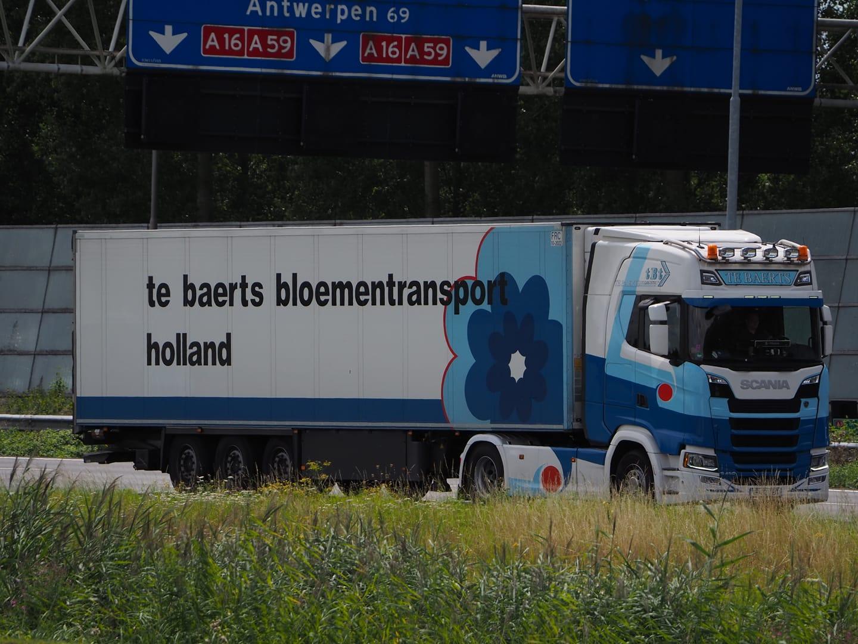 Scania-met-RO-kenteken