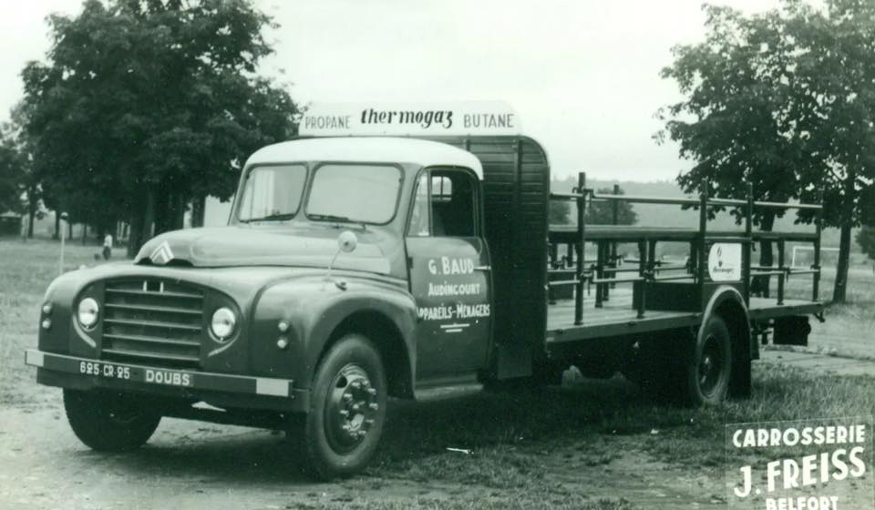 Citroen-Gas-transport