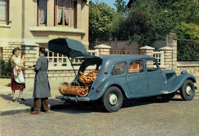 Citroen-Bakkers-wagen