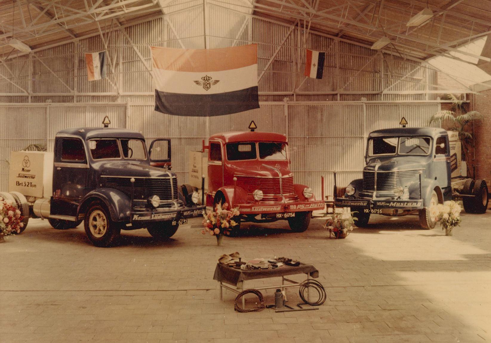 Opening-garage-Wassing--Verbruggen-aan-de-Ringbaan-Oost--Krupp--1951